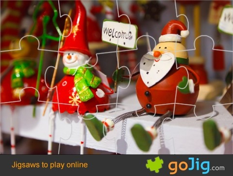 Jigsaw : Santa Decoration