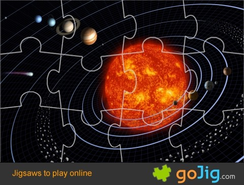 Jigsaw : The Solar System
