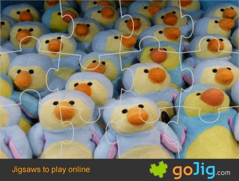 Jigsaw : Stuffed Toys