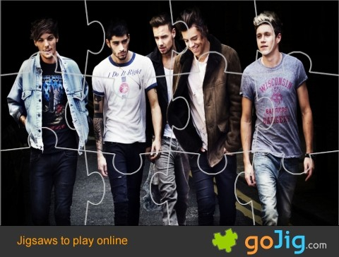 Jigsaw : One Direction