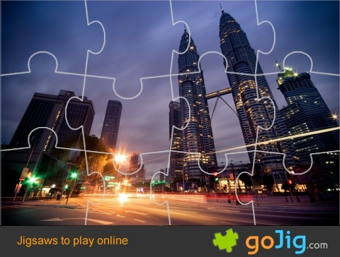 Jigsaw : Petronas Towers