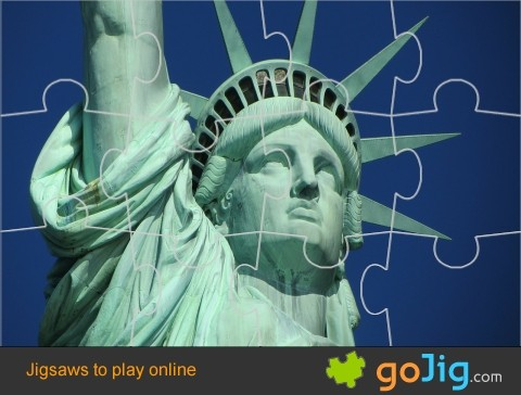 Jigsaw : Statue Of Liberty