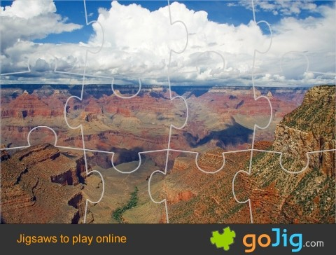 Jigsaw : Grand Canyon