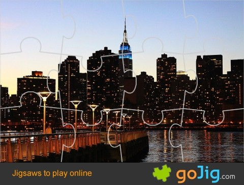 Jigsaw : New York City Skyline