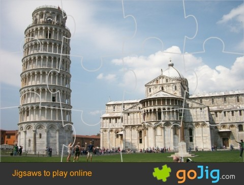 Jigsaw : Leaning Tower of Pisa