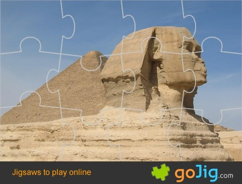 Jigsaw : Great Sphinx of Giza