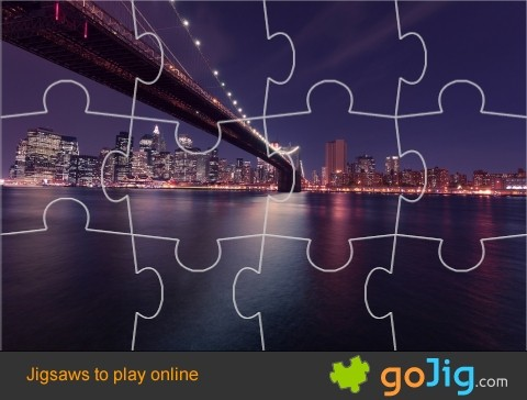 Jigsaw : Brooklyn Bridge