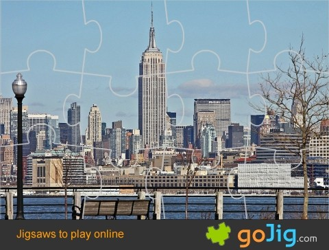 Jigsaw : Empire State Building
