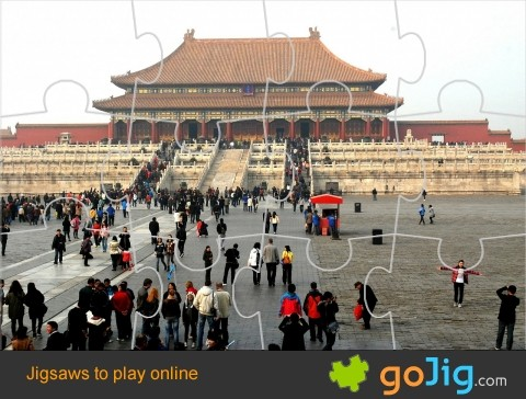 Jigsaw : Forbidden City