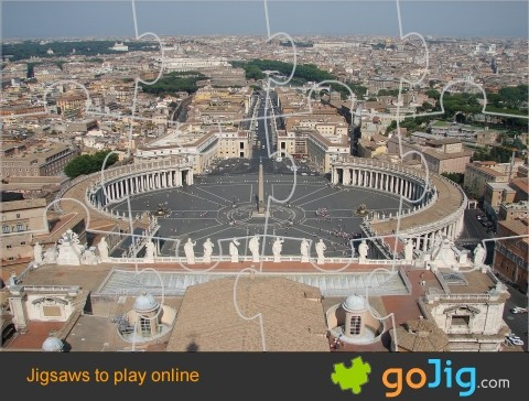 Jigsaw : Vatican City