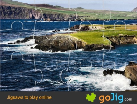 Jigsaw : Irish Cliffs