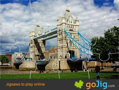 Jigsaw : Tower Bridge, London