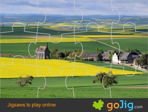 Jigsaw : Countryside