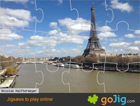 Jigsaw : Eiffel Tower