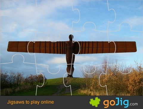 Jigsaw : Angel of the North