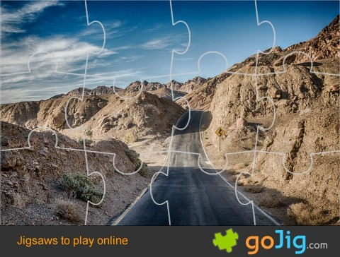 Jigsaw : Road Through Death Valley