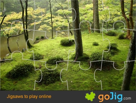 Jigsaw : Japanese Forest