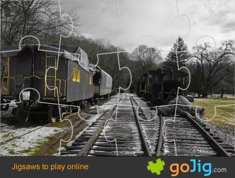 Jigsaw : Vintage Trains