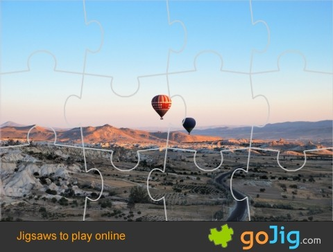 Jigsaw : Hot Air Balloons