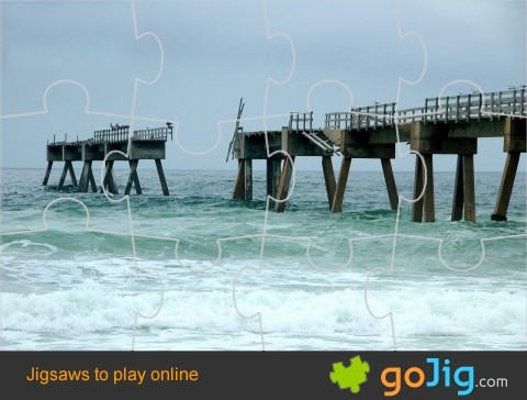 Jigsaw : Broken Fishing Pier