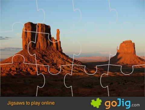 Jigsaw : Red Rock of Utah