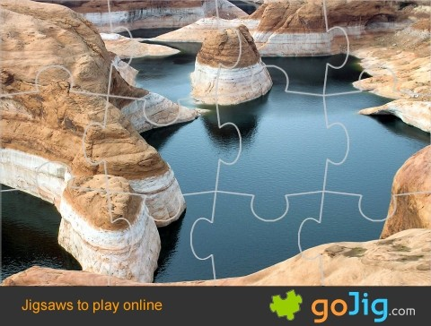 Jigsaw : Glen Canyon Utah