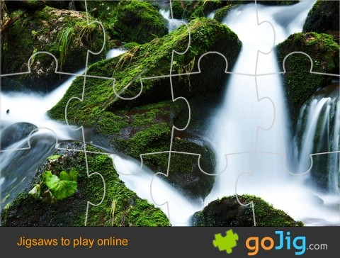 Jigsaw : Waterfall in Creek
