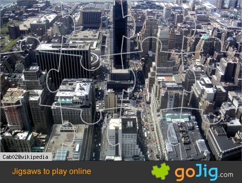 Jigsaw : Aerial View of New York