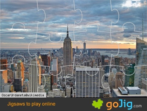 Jigsaw : New York Skyline