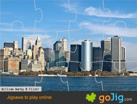 Jigsaw : Manhattan, New York