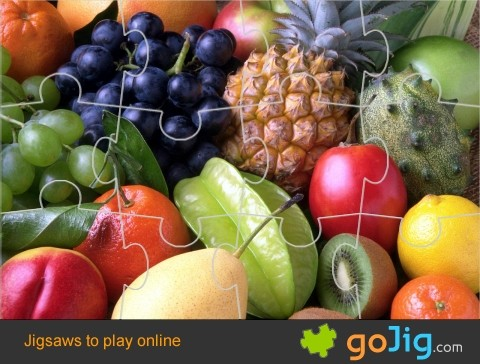 Jigsaw : Fruit Display