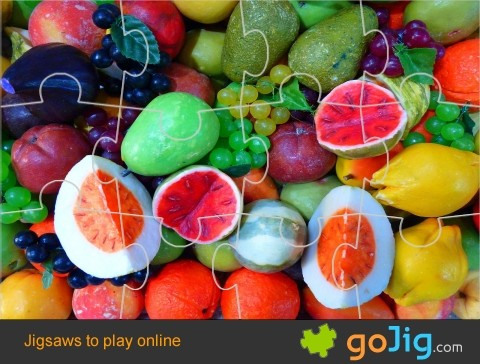 Jigsaw : Fruit Display 2