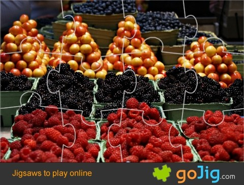 Jigsaw : Berries for Market