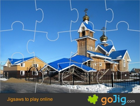 Jigsaw : Russian Church
