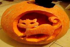 Jigsaw : Cat in a Pumpkin